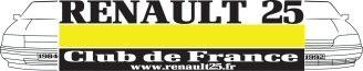 RENAULT 25 Club de France